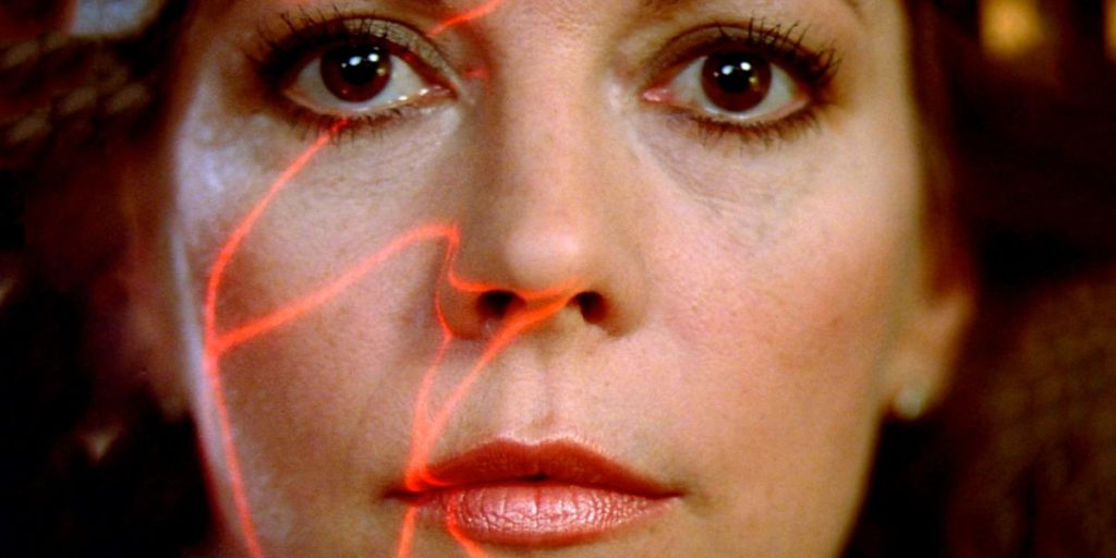 """A still of Natalie Wood in the 1983 film """"Brainstorm."""""""